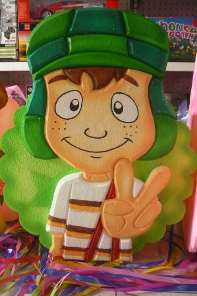 Chavo Piñata 2d Piñatas Del Chavo Chavo Del 8 Animado Figuras De Unicel