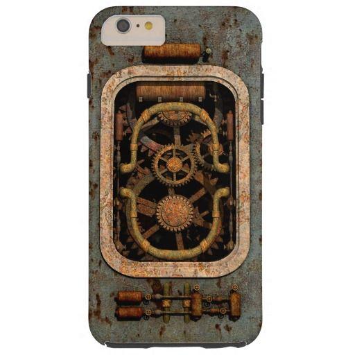 Steampunk Machine Tough iPhone 6 Plus Case