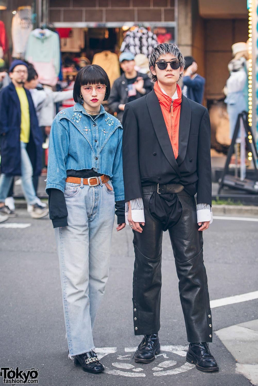 b6713cc1c6b7 Harajuku Duo in Retro Streetwear w  Jean Paul Gaultier