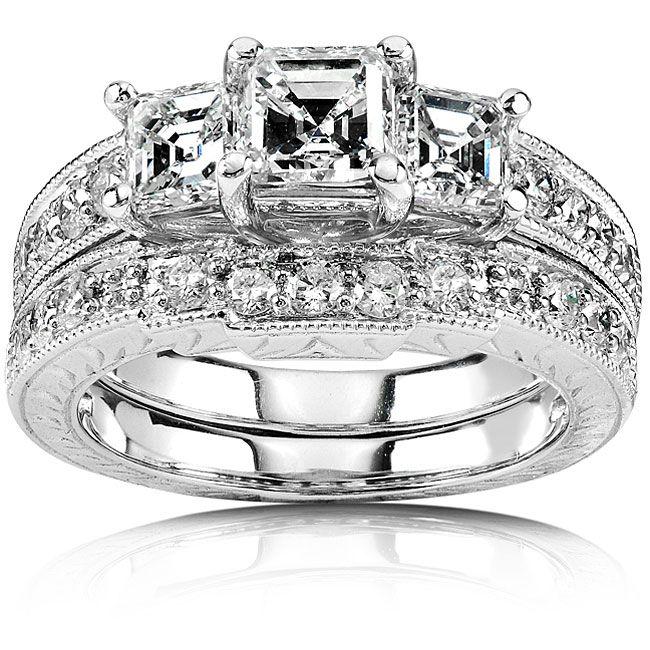 White Gold Engagement Ring Inspirations Of Cardiff Diamond Wedding Sets Diamond Bridal Ring Sets White Gold Engagement Rings