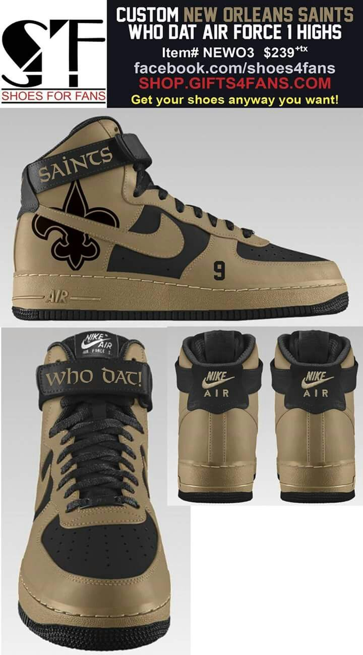 buy online f23b8 29872 New Orleans Saints Sneakers