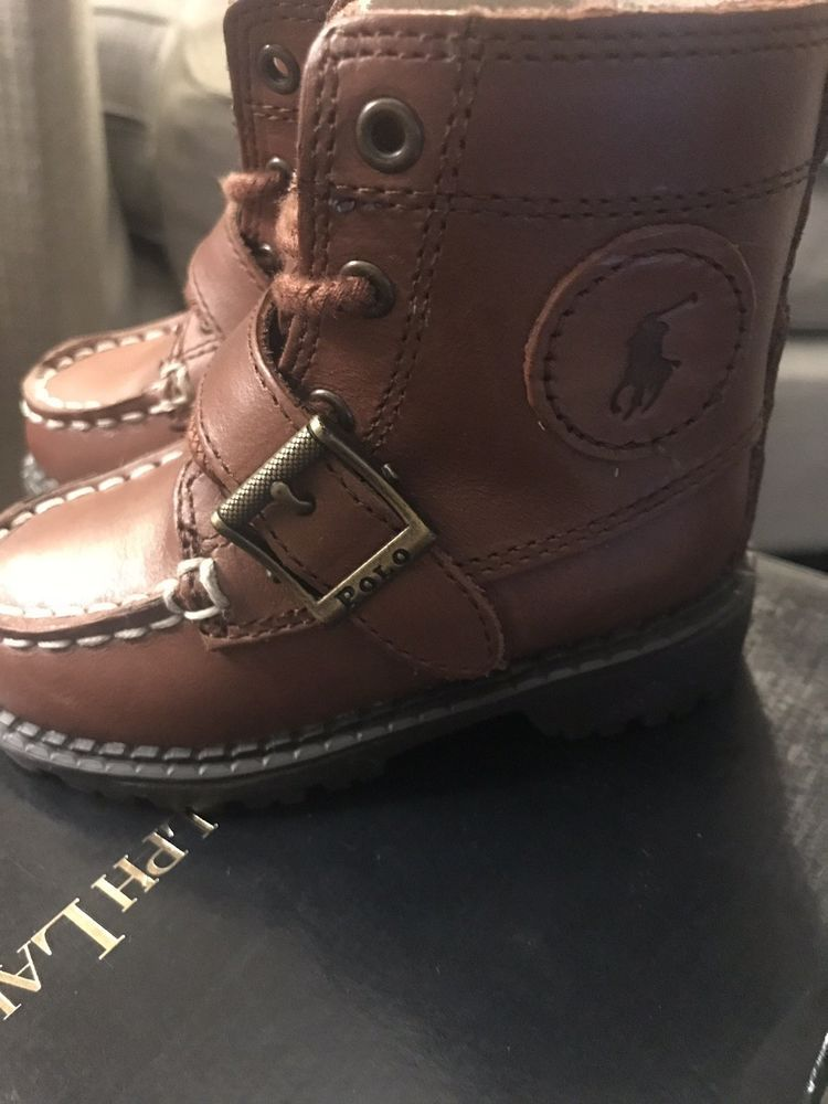 0845b522a27 Polo Ralph Lauren Boots Preschool Size 5 #fashion #clothing #shoes ...