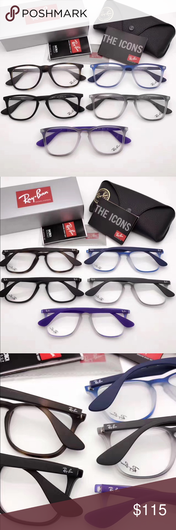 2988e11f55 new Ray Ban rb7074 full frame Eyeglasses Multiple colors available! New