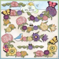 Pretty flower borders corners 1 ne cheryl seslar clip art pretty flower borders corners 1 ne cheryl seslar clip art mightylinksfo