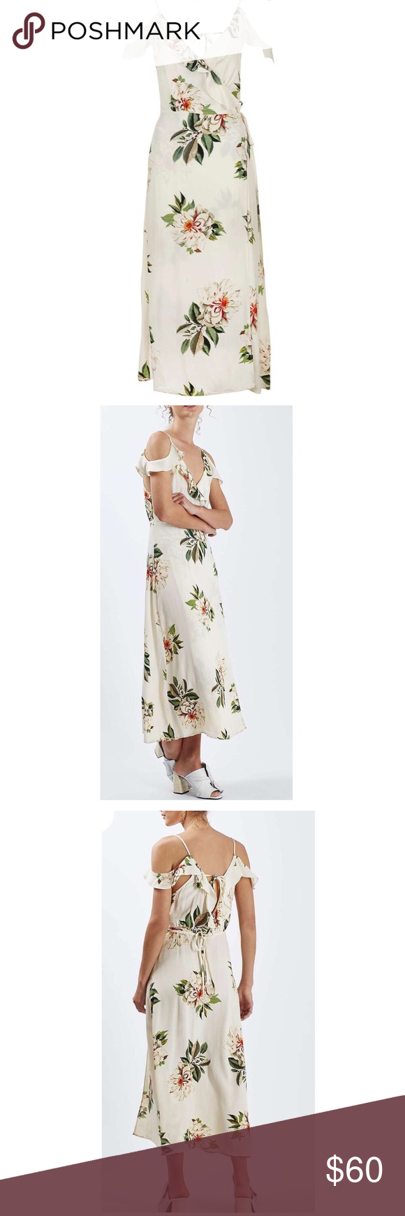 Topshop Floral Dress Over 40 Off Retail Price Nwt Topshop