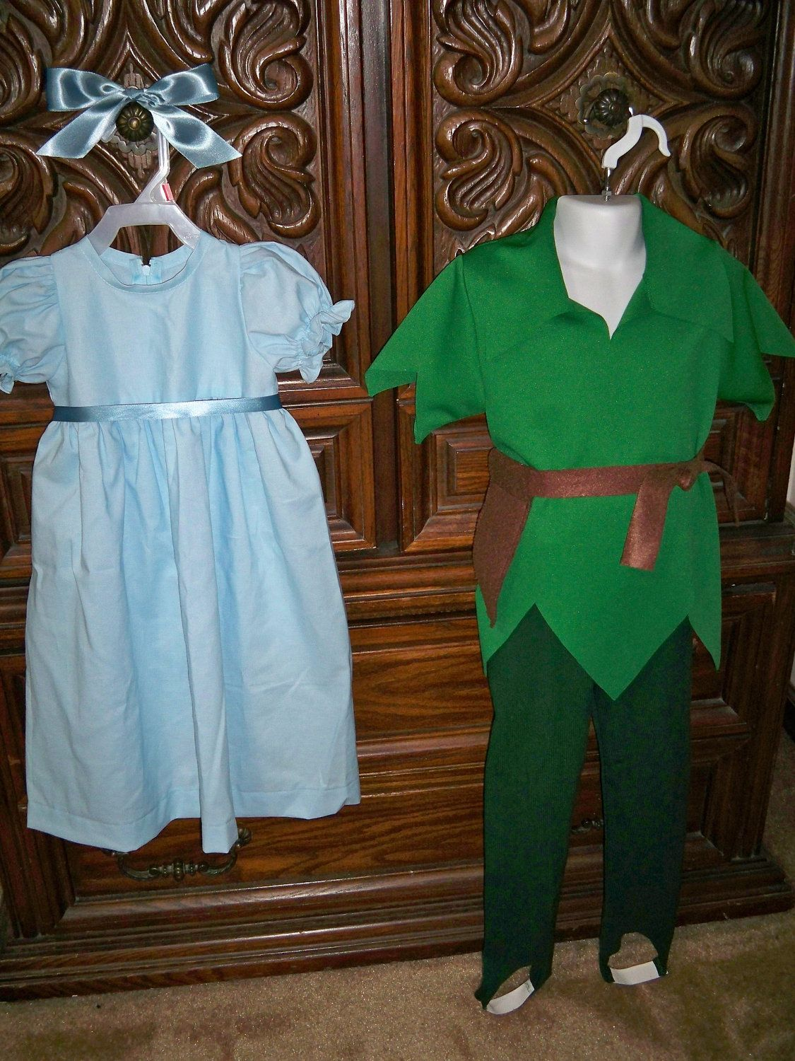 511e877452 Custom Order Kids Size Disney s Peter Pan Wendy Darling Costume.  70.00