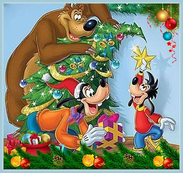 Christmas - Disney - Goofy