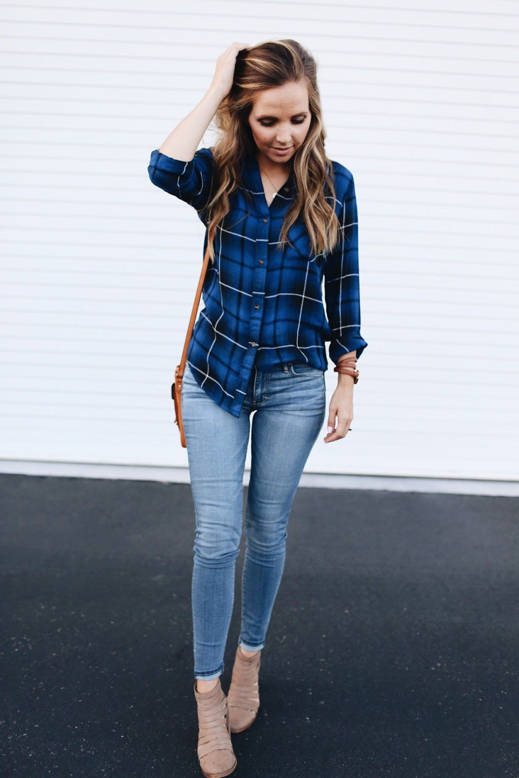 Flannel outfits for women  THE SHIRT YOU CAN WEAR YEAR ROUND   s p r i n g