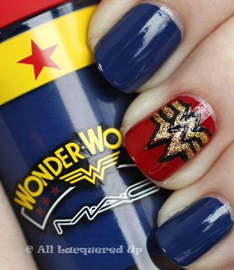 The Recently Launched Mac Wonder Woman Collection Brought Out Little And Nail Artist In Me