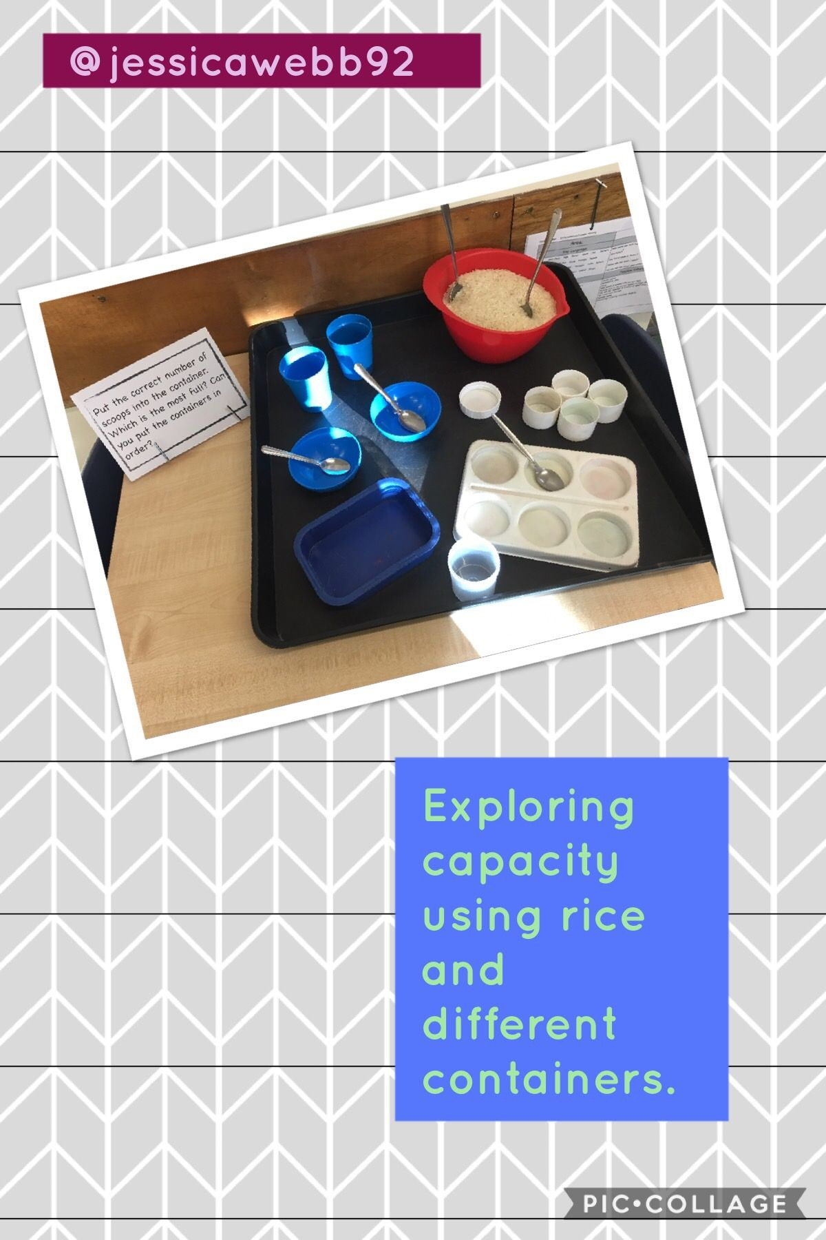 Exploring Capacity With Rice And A Variety Of Containers