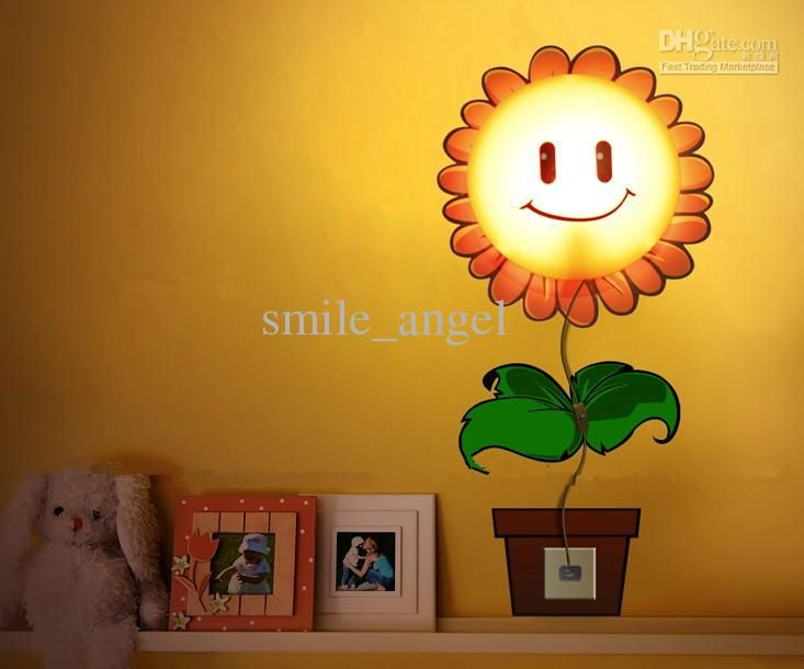 Sunflower lamp super cool idea easy diy som paint and a cheap ikea lamp kids room pinterest ikea lamp kids rooms and room