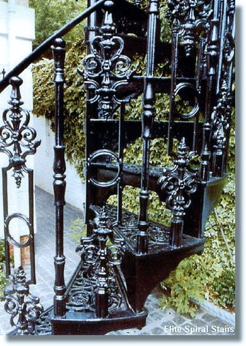 Best Cast Iron Charlcote Spiral Staircase Elite Spiral 400 x 300