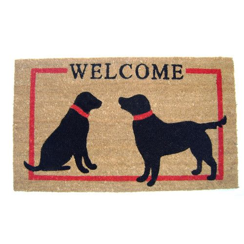 Found it at Joss & Main - Dogs Welcome Doormat