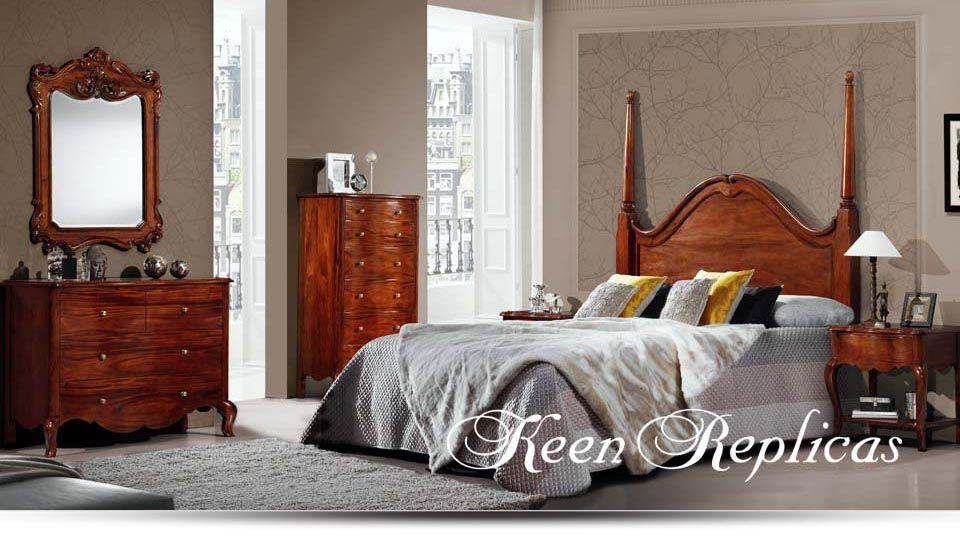 Keen replicas muebles artesanales en caoba maciza - Muebles de caoba ...