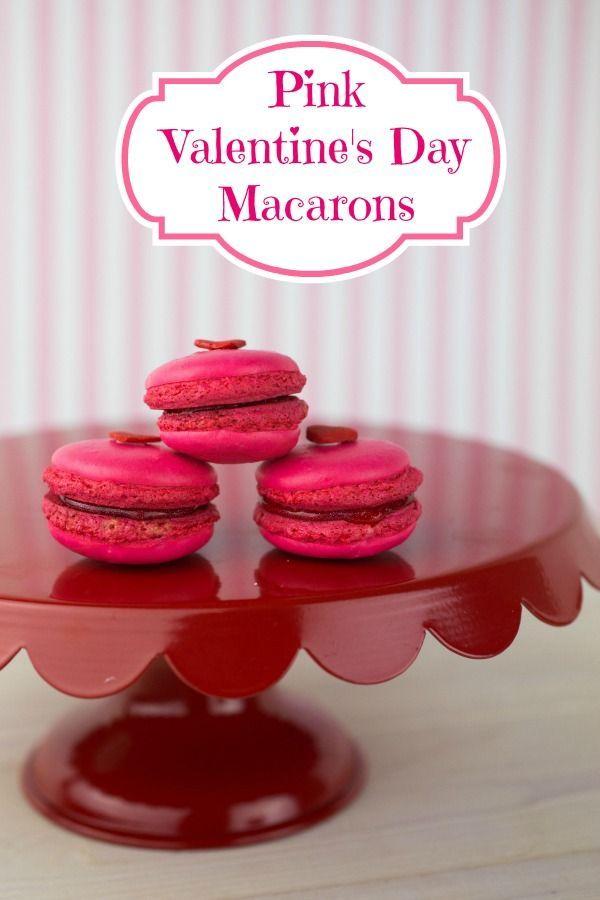 Pink Macarons - Macarons Pink Macarons - Macarons -