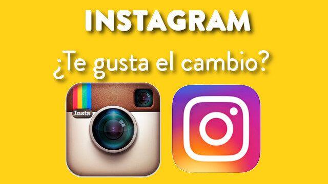 Instagram actualiza su aplicación con el estreno de un nuevo diseño de ícono