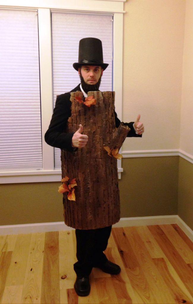 lincoln log halloween costume costumes in 2019 funny halloween rh pinterest com