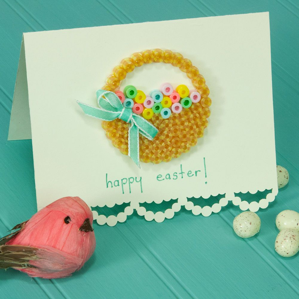 Make Colorful Easter Cards Using A Simple Design A Bit Of Ribbon