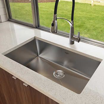 Ancona Prestige Series Undermount Single Bowl Sink Sink Single Bowl Sink The Prestige