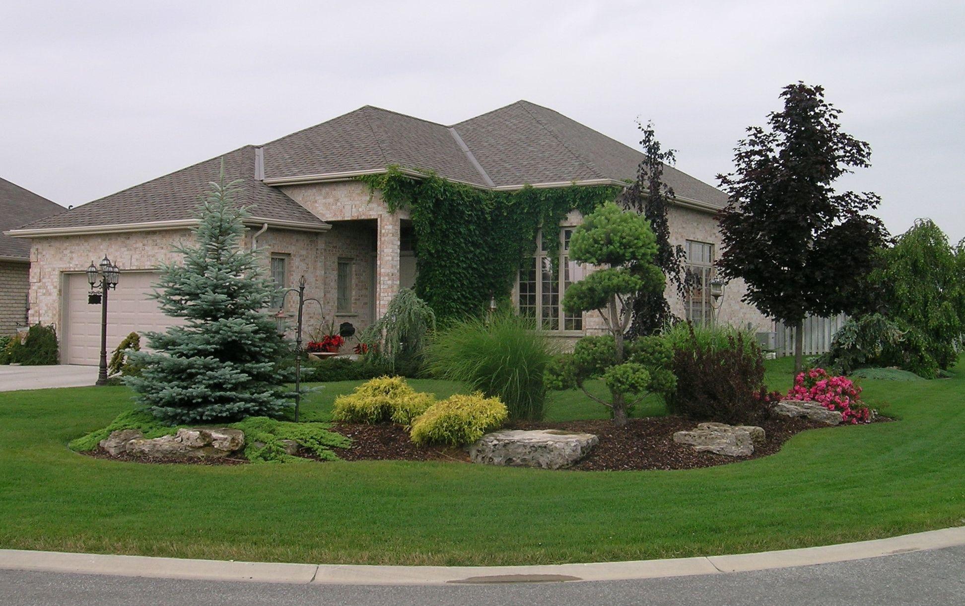 Landscape Ontario Landscape Design Front Yard Landscaping Small Front Yard Landscaping