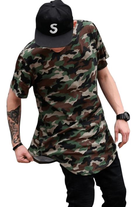 0a2433582e Pin de LOJA HDR em Camisas E camisetas long line oversized lisas ...