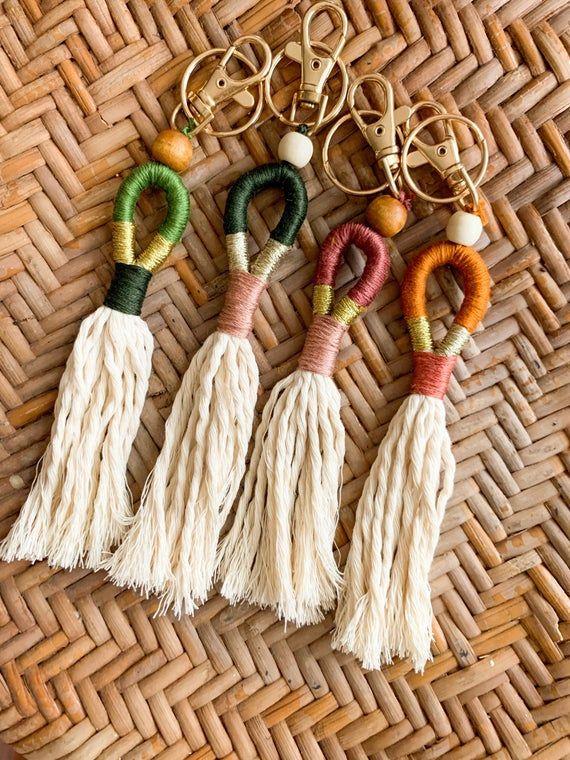 26+ Tassel Keychains