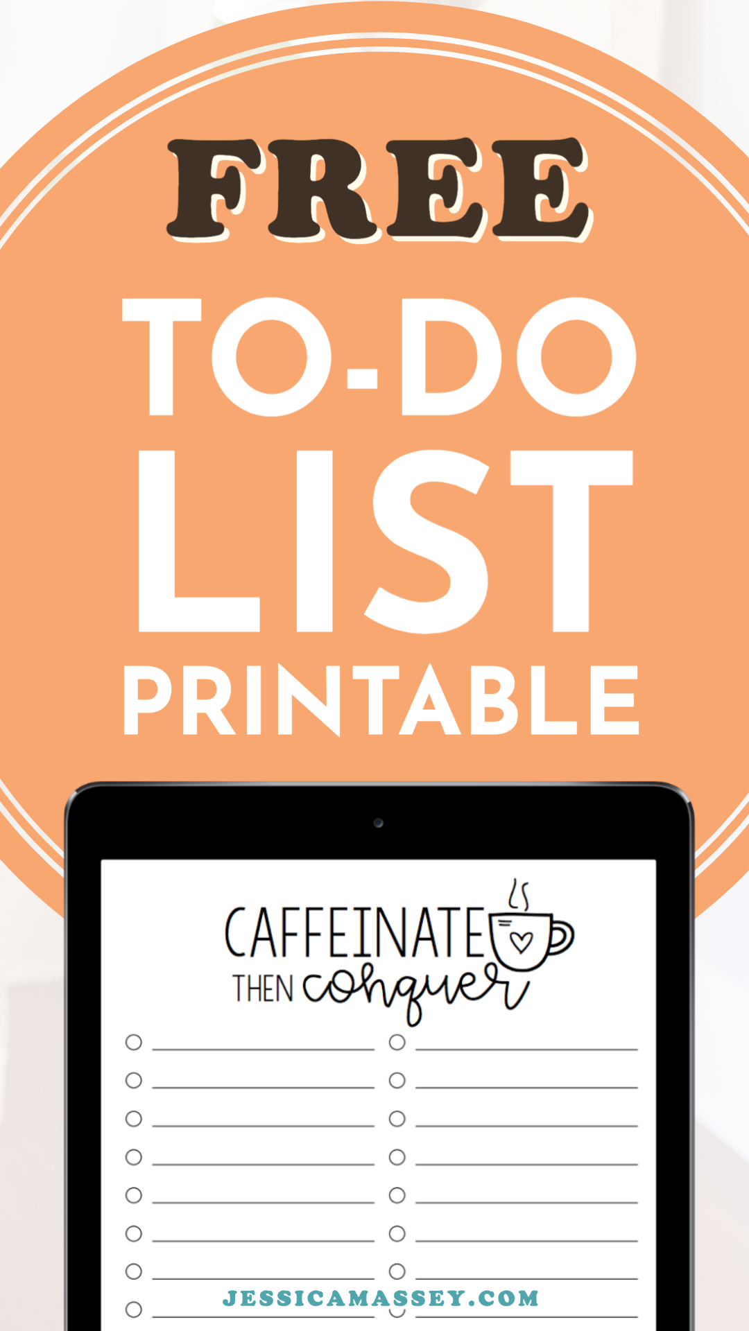 Get This Free To Do List Worksheet For Coffee Lovers Use