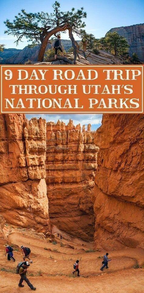 utah road trip vacation ideas