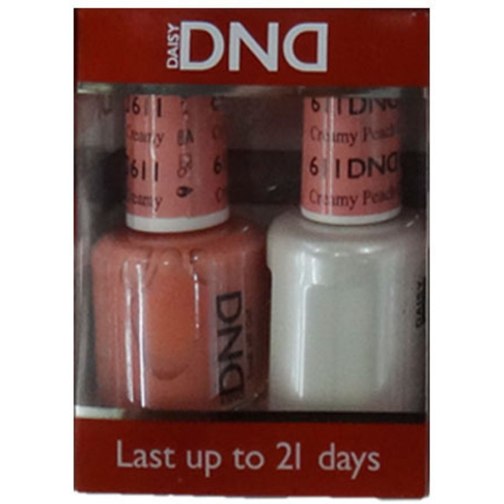 DND Duo GEL Pack - Diva Collection - CREAMY PEACH / 1 Gel Polish ...