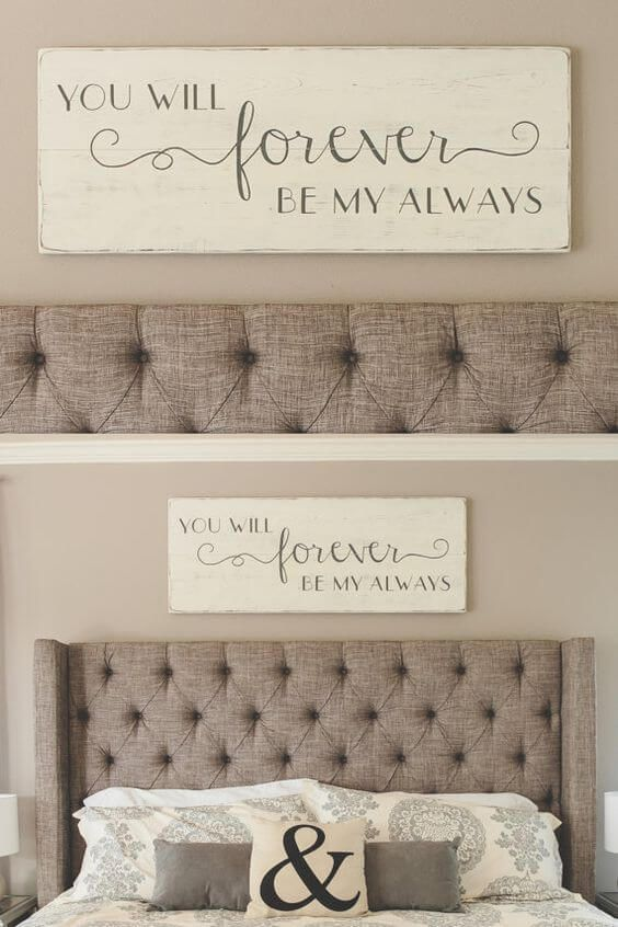 Diy Inspirational Quote Painting For Bedroom Signs In 2019