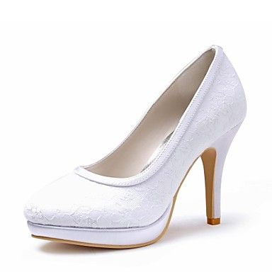De satijnen vrouwen huwelijk gesloten tenen naaldhak pumps schoenen (meer kleuren) - EUR € 38.67