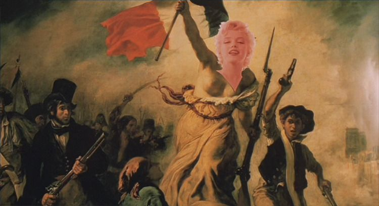 The Dreamers 2003 Director Bernardo Bertolucci Liberty Leading The People French Revolution Painting Delacroix Paintings