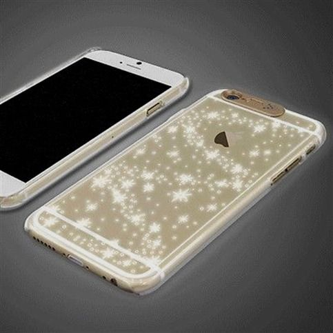 official photos ffc46 a481c SG LED Lighting Case #iPhone 6 Case Flash Lighting Clear Case 6 ...