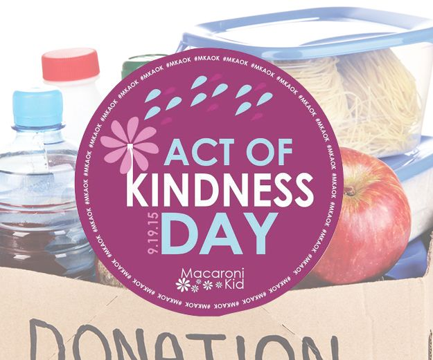 MK Act of Kindness Day ~ Food Drive with Macaroni Kid EBC | Macaroni Kid #MKAOK #MacKid #FoodDrive
