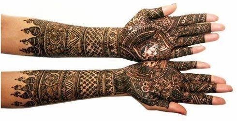 Rajasthani Bridal Mehndi Designs : Stunning bangle mehndi designs to try in