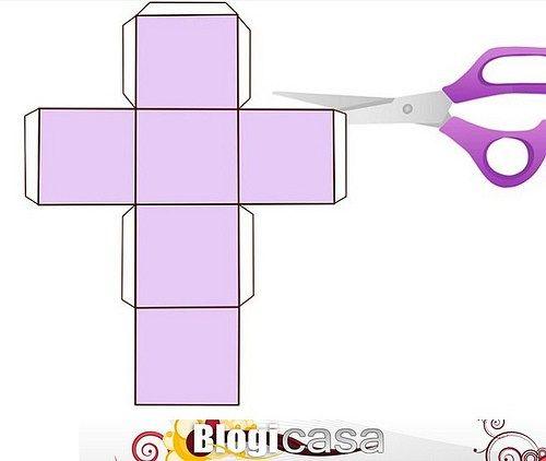 Cómo Hacer Un Cubo Como Hacer Un Cubo Hacer Cajitas De Carton Regalos Fáciles De Hacer