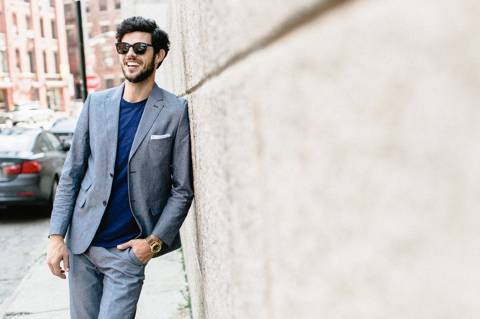9 Tips For Dressing Down A Suit (WITH PHOTOS) - Casual Suit ...