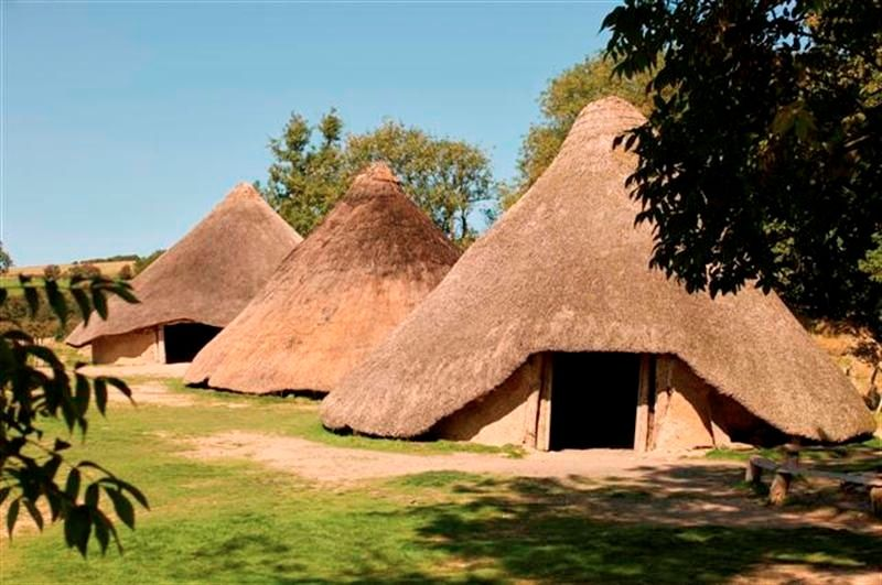 Castell Henllys iron age fort  off the A487 between Newport and Cardigan  Entry prices: Adults £4.75, Concessions £3.50, Family ticket £12.75 #visitwales