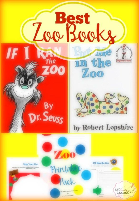 Free Zoo Printable Pack for What to Read Wednesday | Lit for Littles ...