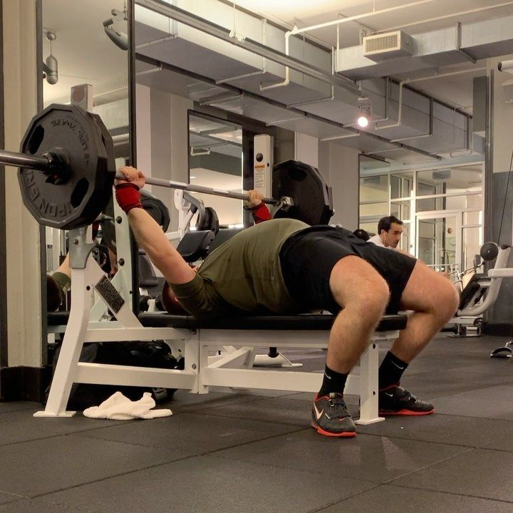 Bench Press: 225x3 at RPE 7.5  Really starting to feel good in the gym now that I'm consistently