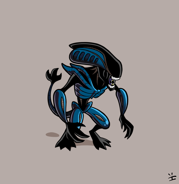 Xenomorph Roster: Gorilla Alien by inkjava on deviantART ... Gorilla Xenomorph