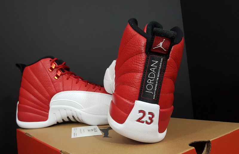 buy popular c954b 03b05 Air Jordan 12 Alternate Gym Red White