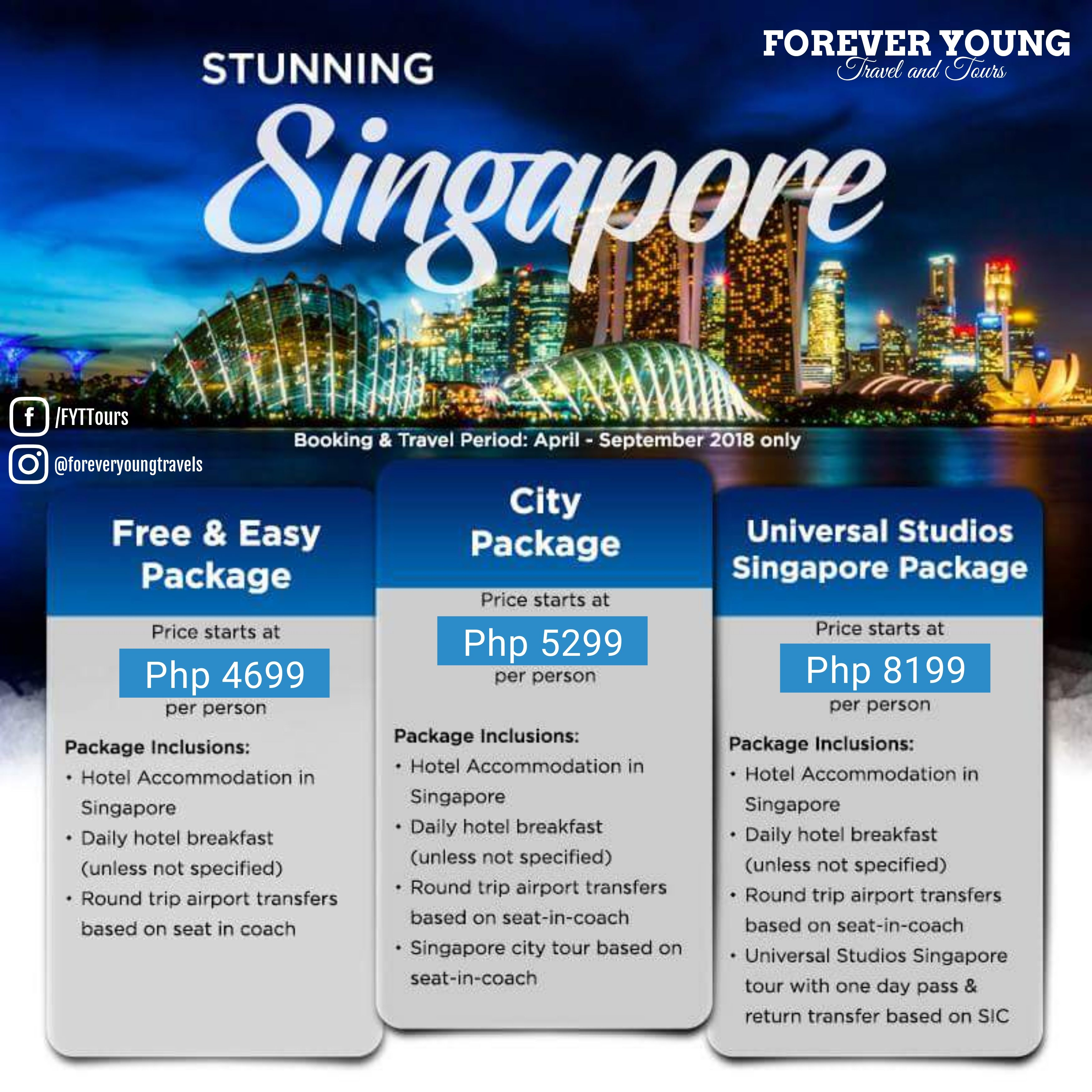 Singapore Tour Packages foreveryoungtravelsgmailcom