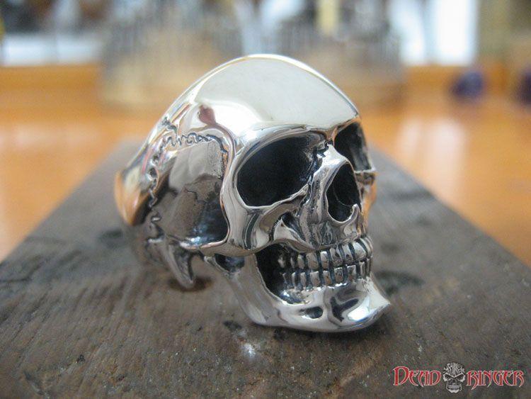 Fine skull rings, Deadringer, Horned God, Speed Demon, The