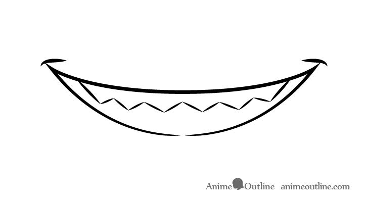 Draw Anime Manga Teeth Tutorial Mouth Drawing Anime Mouths Open Mouth Drawing