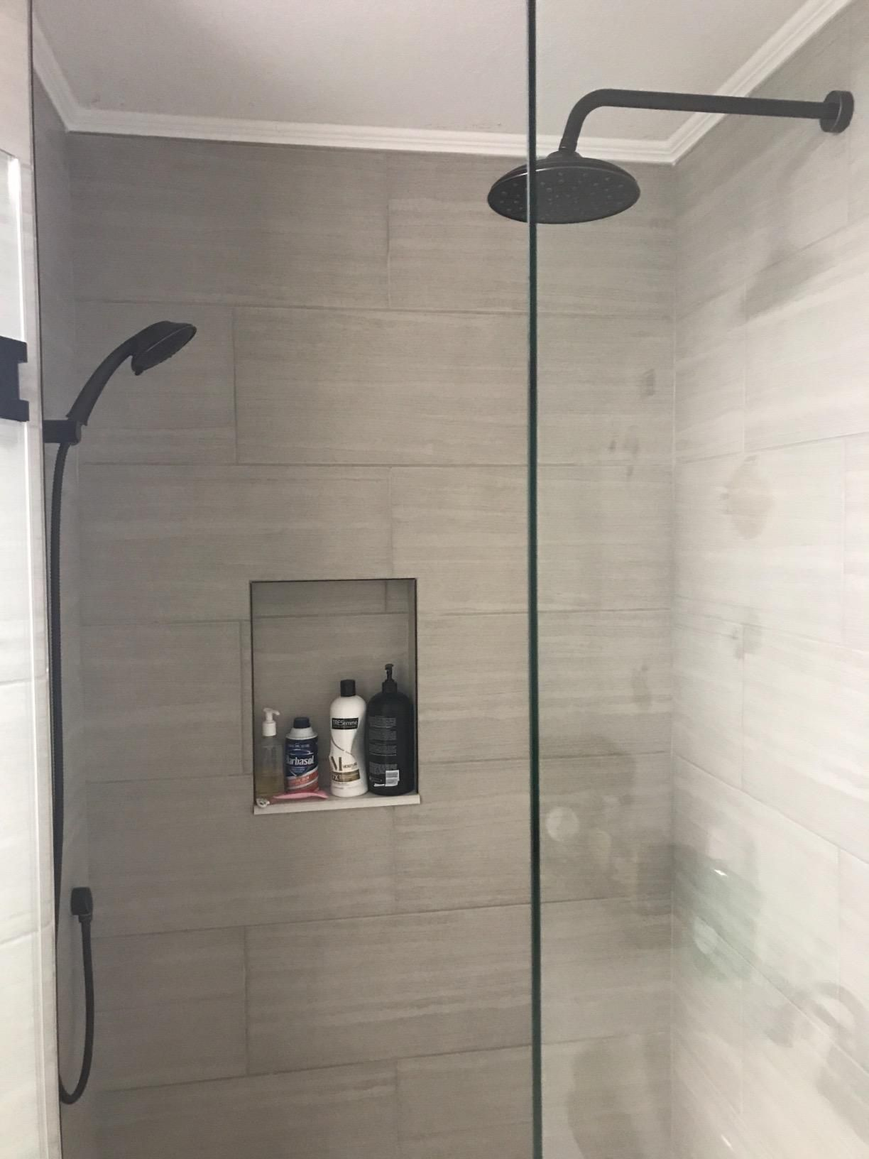 Shower System Wall Mounted Shower Faucet Set For Bathroom With High Pressure 8 Rain Shower Head And 3 Setting Shower Systems Shower Faucet Sets Shower Faucet