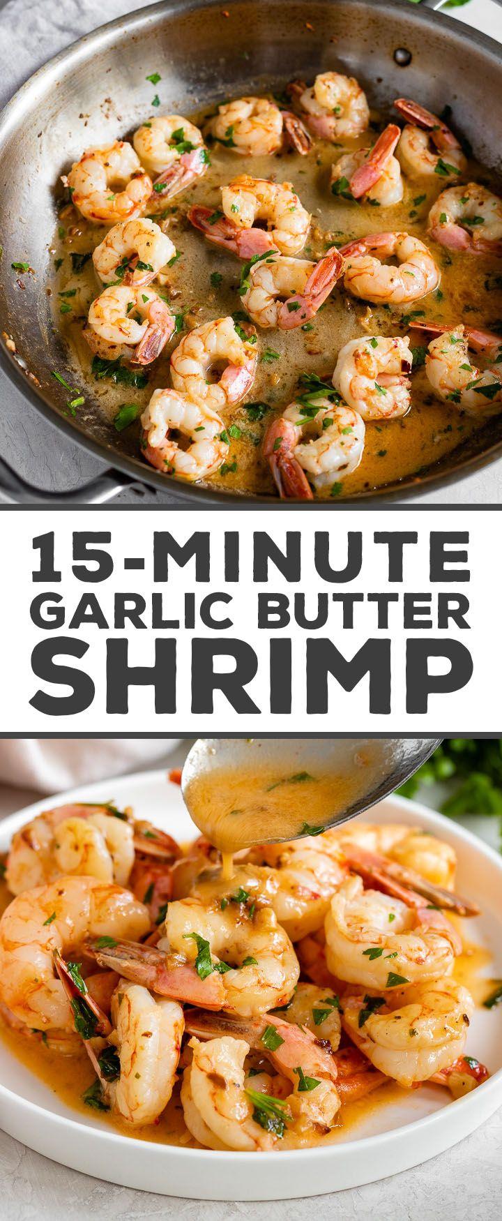 15-Minute Garlic Butter Shrimp