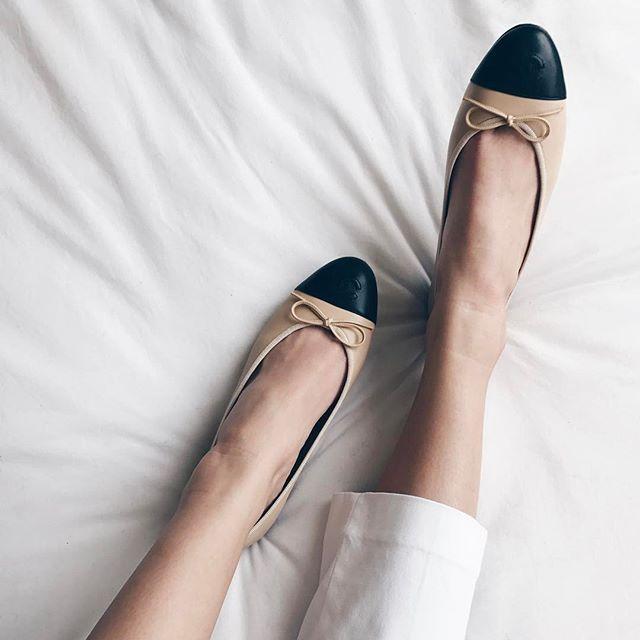 Chanel Ballerinas Chanel Ballerina Flats Chanel Ballerina Ballerina Shoes Flats