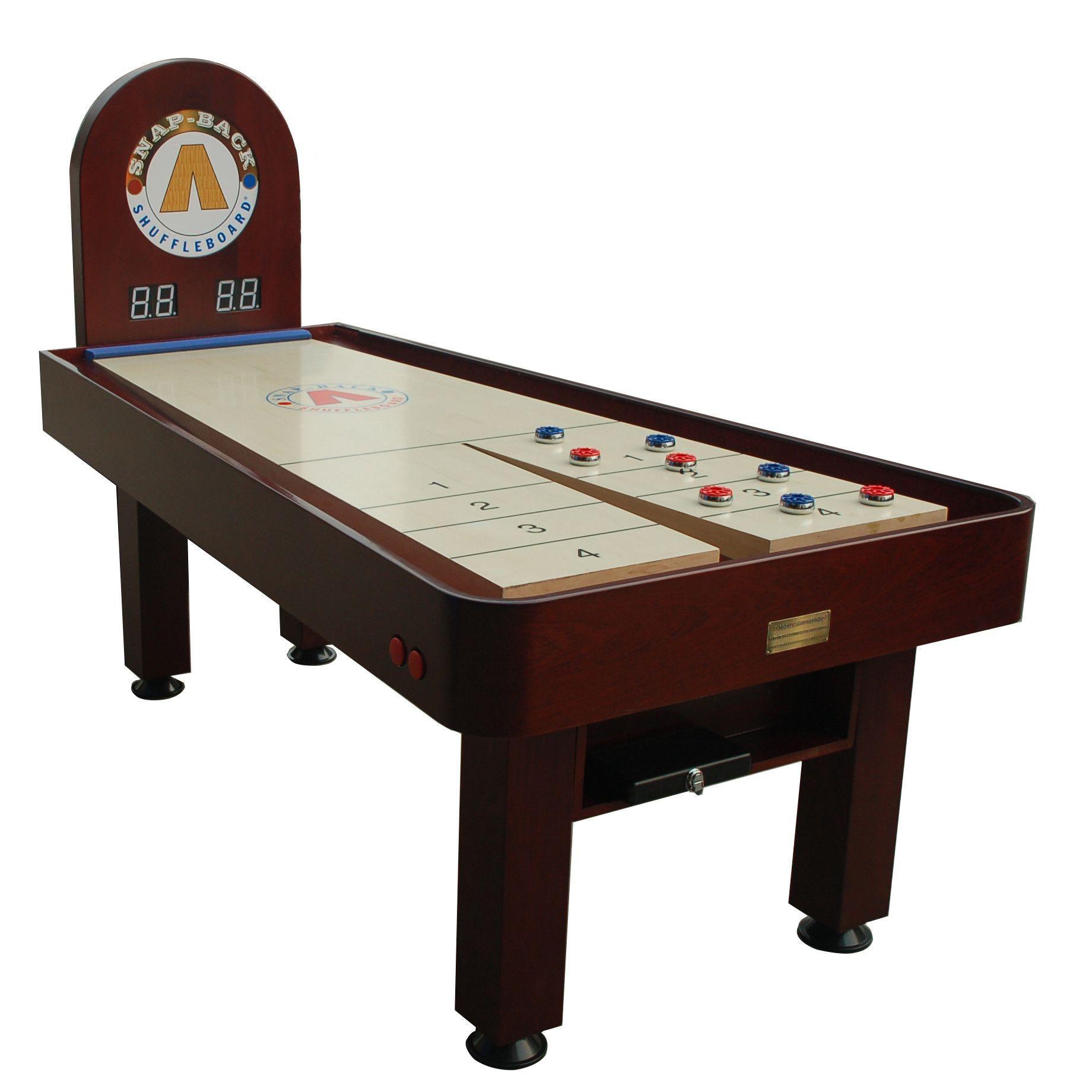 Snap   Back Tavern Shuffleboard Table