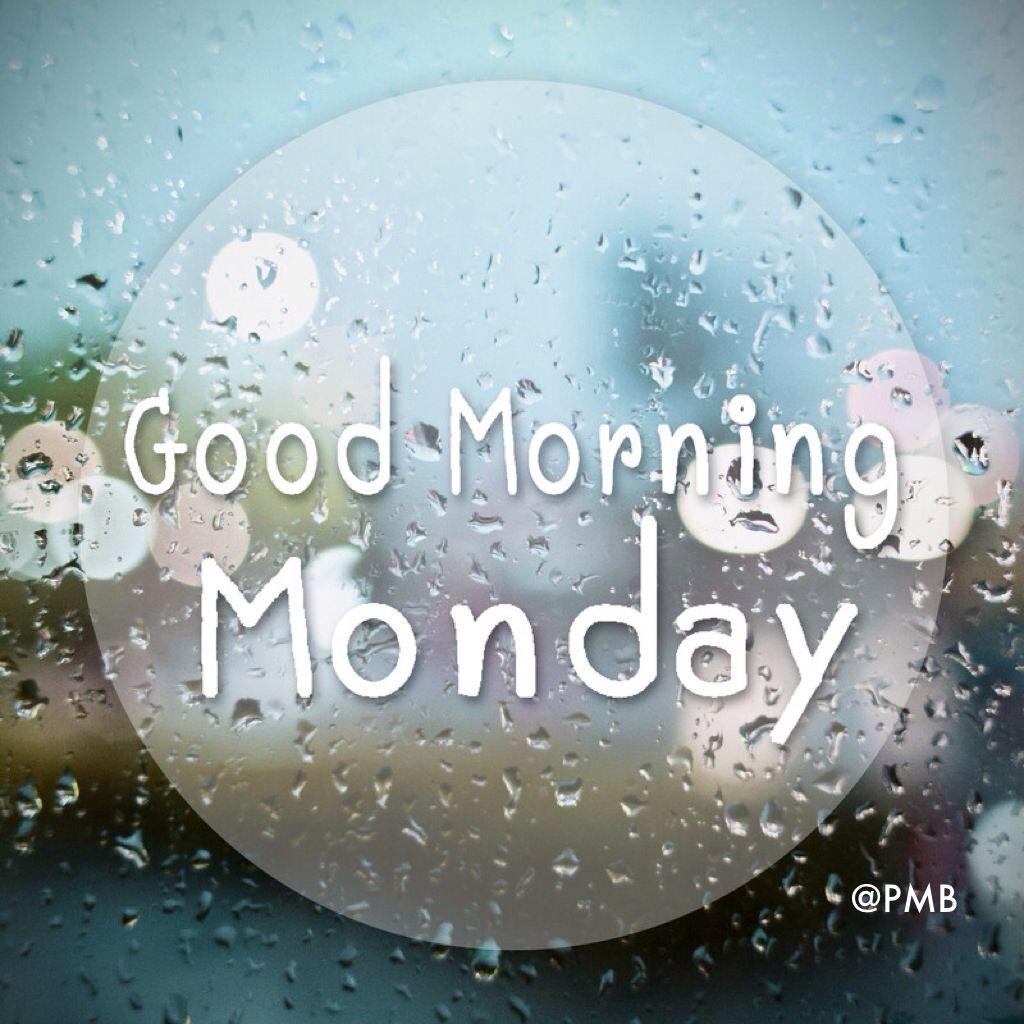 Rainy Days And Mondays Quotes: Good Morning Monday #MyPmb